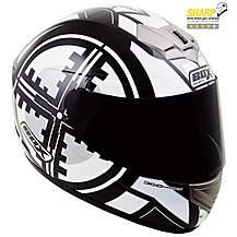 image of Box Scope Black Motorcycle Helmet B1SBS - Small