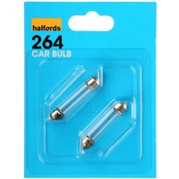 Halfords (HBU264) 10W Car Bulbs x 2