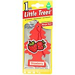 image of Little Tree Strawberry Air Freshener