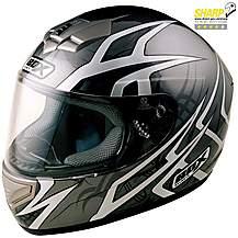 image of Box Web Black Small Motorcycle Helmet