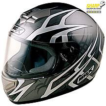 image of Box Web Black Motorcycle Helmet B1WBL - Large
