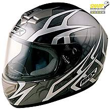 image of Box Web Black Motorcycle Helmet X Large
