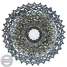 image of Shimano HG80 9 Speed Cassette 11-34