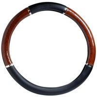 Halfords Steering Wheel Cover - Wood Effect