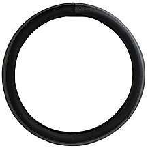 image of Halfords Steering Wheel Cover - Black/Grey