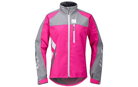 image of Hump Strobe Womens Waterproof Cycling Jacket