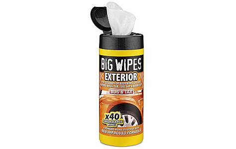 big wipes car exterior wipes x 40