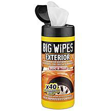 image of Big Wipes Car Exterior Wipes x 40