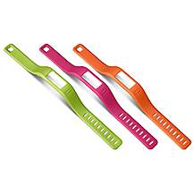 image of Garmin Vivofit Wristband - Pack of 3 Colours - Large
