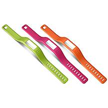 image of Garmin Vivofit Wristband - Pack of 3 Colours - Small