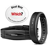Garmin Vivosmart Fitness Activity Tracker with Heart Rate Monitor - Large - Black