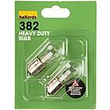 Halfords (382HD) 21W Heavy Duty Car Bulbs x 2