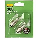 image of Halfords 380 P21/5W Heavy Duty Car Bulbs x 2