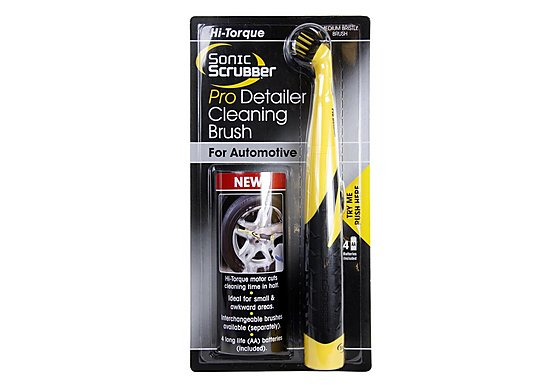 Sonic Scrubber Pro Detailer Cleaning Brush