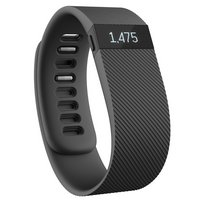 Fitbit Charge Wireless Activity Plus Sleep Wristband - Black - Large