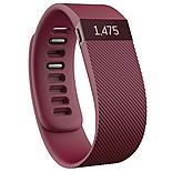 Fitbit Charge Wireless Activity Plus Sleep Wristband - Burgundy - Large