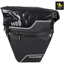 image of Boardman Waterproof Single Pannier Bike Bag