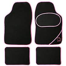image of Universal Pink Edge Car Mats