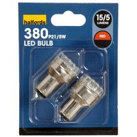 Prism LED Bulbs - Red