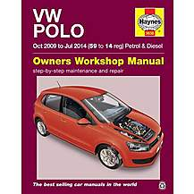 image of Haynes Manual VW Polo Petrol & Diesel (09-14)
