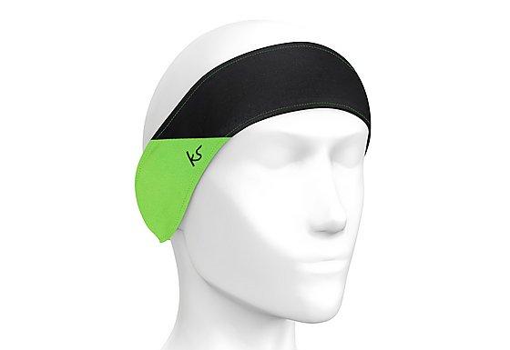 Kitsound Sports Audio Headband in Green