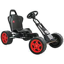 image of Ferbedo Cross Runner r-1 Go Kart - Bad Boy Black