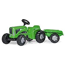 image of Rolly Kiddy Futura Tractor & Trailer Pedal Ride On