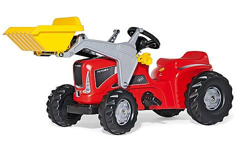 image of Rolly Kiddy Futura Tractor & Frontloader Pedal Ride On