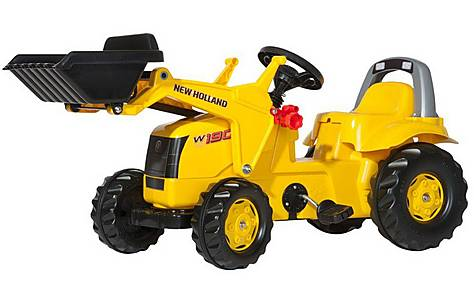image of Rolly Kid Construction W190C Tractor with Frontloader Pedal Ride On