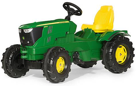 image of Robbie Toys John Deere 6210R Tractor Pedal Ride On
