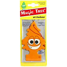 image of Little Trees Silly Citrus Car Air Freshener