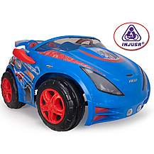 image of Injusa 12V Spiderman Two Seater Electric Ride On Car