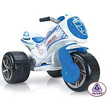 image of Injusa Waves Police Trimoto 6V Electric Ride On