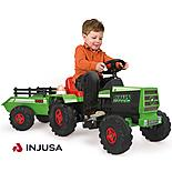 Injusa Tractor & Trailer 6V Electric Ride On