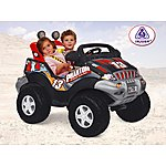 image of Injusa Dark Fire 12V Electric Ride On Jeep