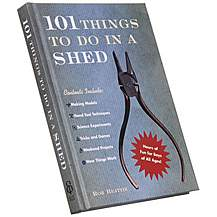 image of 101 Things to Do in a Shed Book