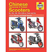 image of Haynes Chinese, Taiwanese and Korean Scooters