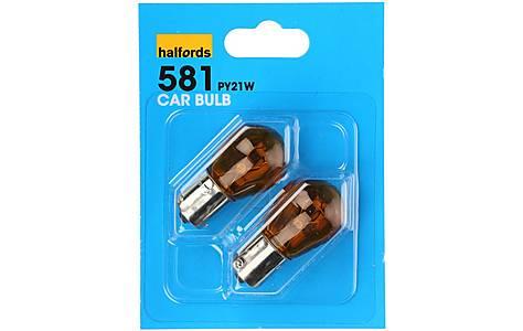 image of Halfords (HBU581) 21W Car Bulbs x 2