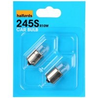 Halfords (HBU245S) 10W Car Bulbs x 2