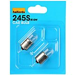 image of Halfords (HBU245S) 10W Car Bulbs x 2