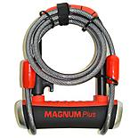 Magnum Plus MagSolid Shackle Lock, 90 x 140 x 14mm with Cable