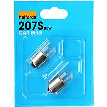 image of Halfords 207S  Car Bulbs x 2