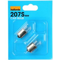 Halfords (HBU207S) 5W Car Bulbs x 2