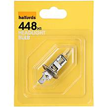 image of Halfords (HBU448) 55W H1 Car Bulb x 1