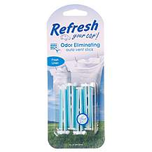 image of Refresh Car Air Freshener Vent Sticks x 4