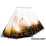 image of Field Candy 2 Man Festival Tent - Exclusive to Halfords