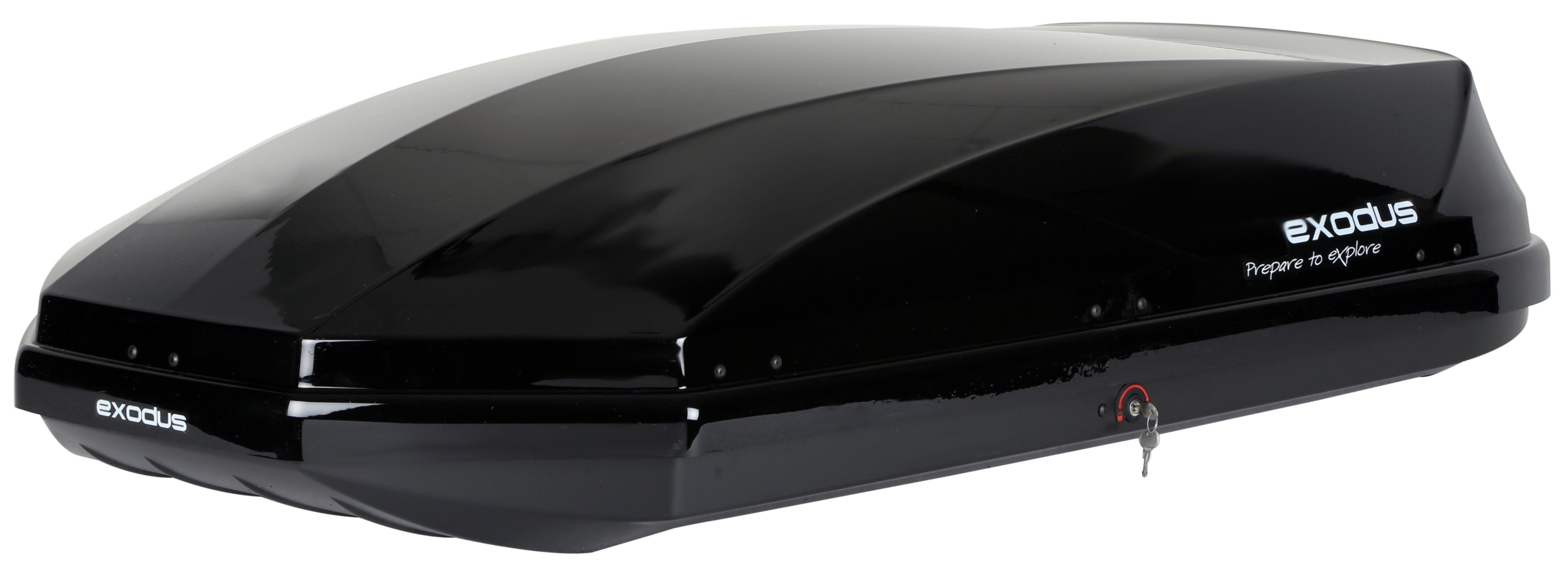 Nice Image Of Exodus 470L Roof Box Gloss Black