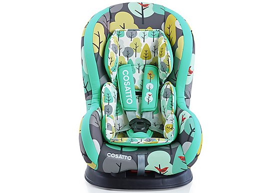 Halfords Cosatto Moova Group 1 Firebird Car Seat