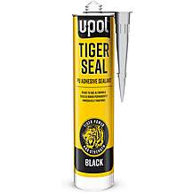 image of TIGERSEAL BLACK 310ml W/GLOVES