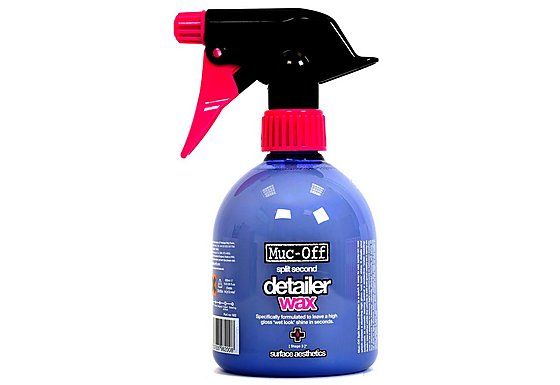 Muc-Off Motorcycle Split Second Detailer Wax - 500ml